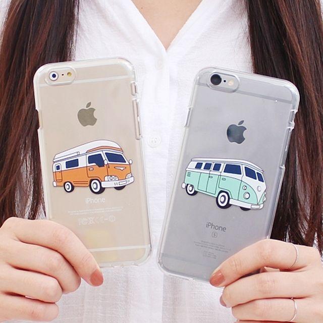 갤럭시 J7 2017 캠핑차투명젤리 SM-J730 핸드폰케이스 휴대폰