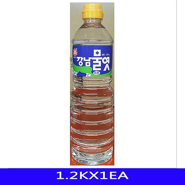 흰 이온 투명 물엿 업소용 식재료 강남식품 1.2KX1EA