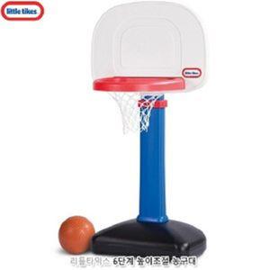 리틀타익스 6단계 높이조절 농구대 국민체육관