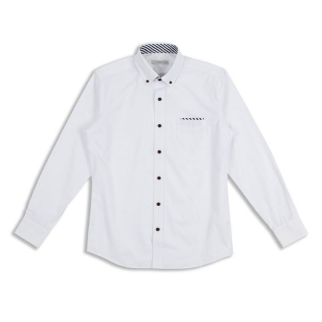 킹스맨 남자셔츠 심플 포켓 스트라이프 포인트 와이셔츠 J0416019