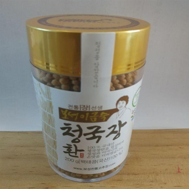 W2F29CE보성전통 청국장 환(백태) 200g,식품,농수산물,반찬,장류,청국장