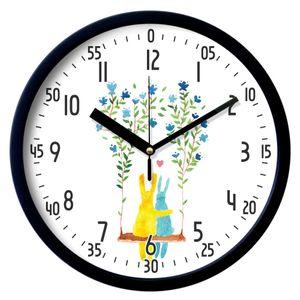 브론즈하우스 EDU-035 교육용벽시계-무소음