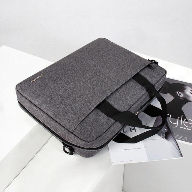 W 심플 디자인 노트북 메쉬 포켓 수납 가벼운 서류가방