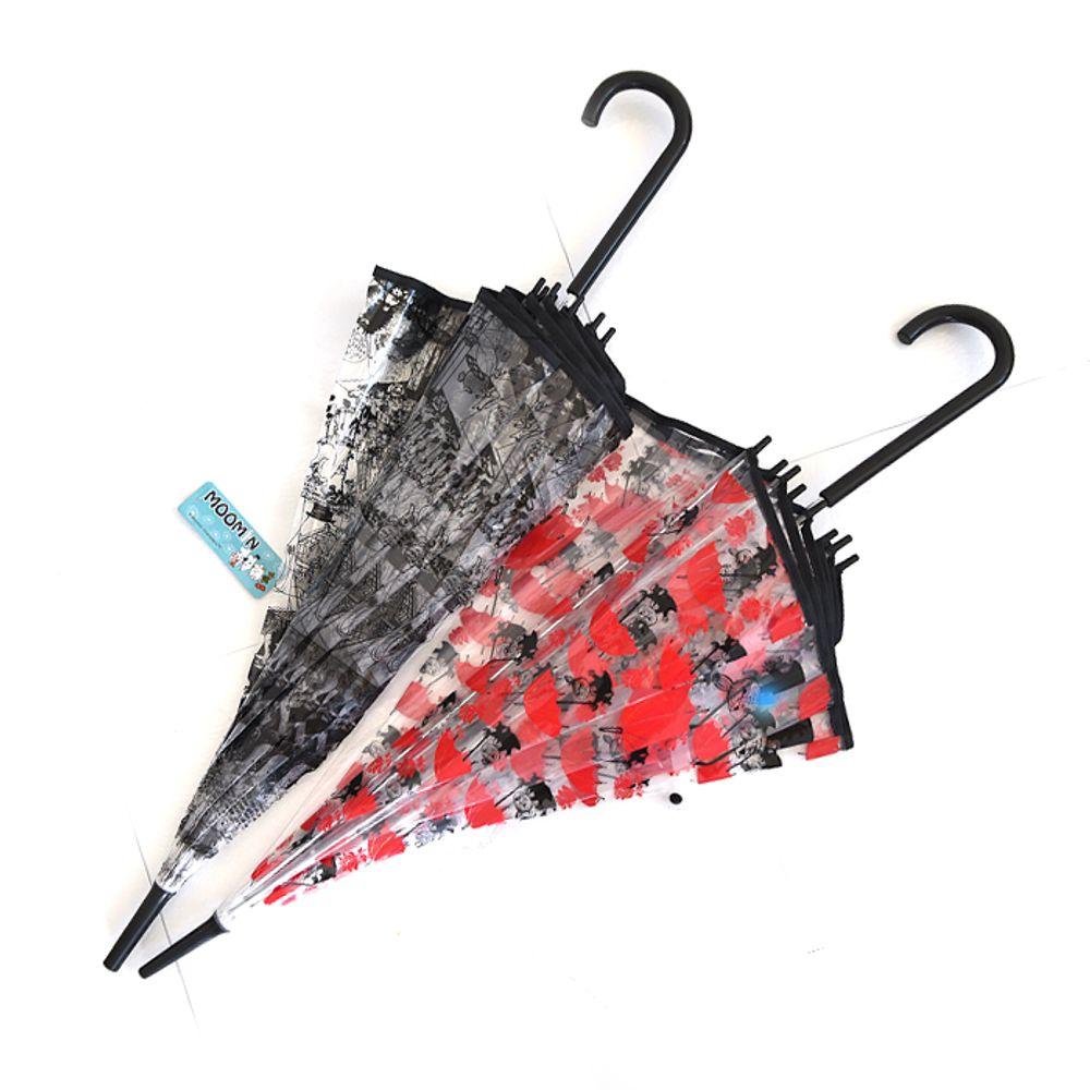 일러스트 캐릭터 비닐 장우산 55cm