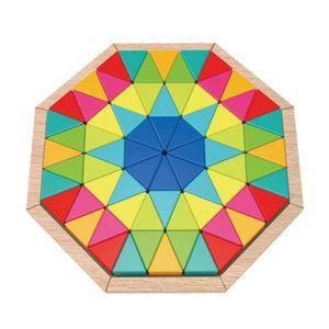 (학습놀이교구)8각형 퍼즐놀이 73pcs
