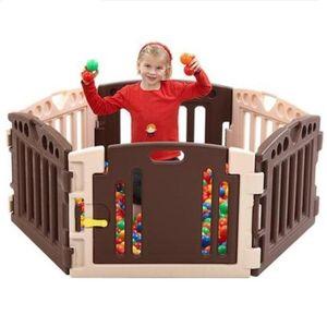 어린이집 유치원 유아 놀이방 플레이 룸 펜스 6각