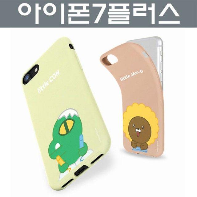 아이폰7플러스 카카오프렌즈 소프트 젤리 케이스