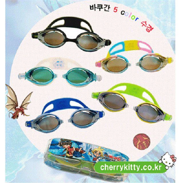 어린이 아동 수경 물안경 바쿠간 아동수경 수영안경