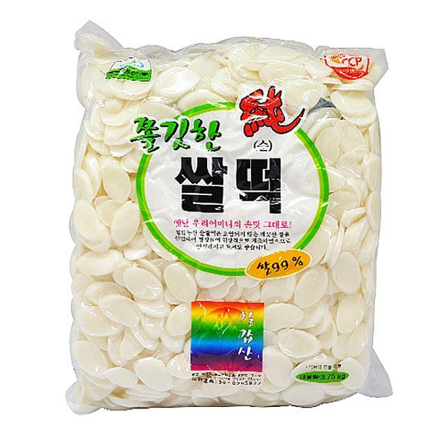 칠갑농산 쫄깃한 순 쌀떡 3.75kg.,칠갑농산,쫄깃한,순,쌀떡,3.75kg