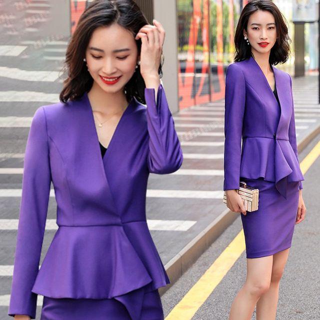[해외] 여성 패션 재킷 자켓 정장세트 스토어 호텔 툴링
