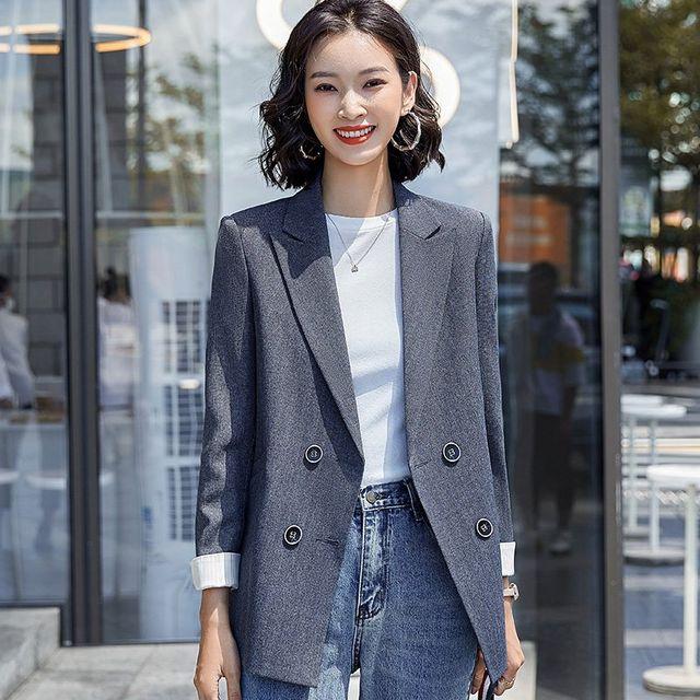 [해외] 여성 패션 재킷 자켓 정장세트트 네트 레드 슈트