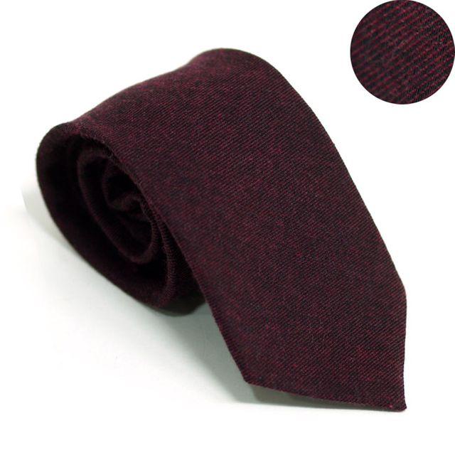 【韩国直邮】男士暗红色高级领带