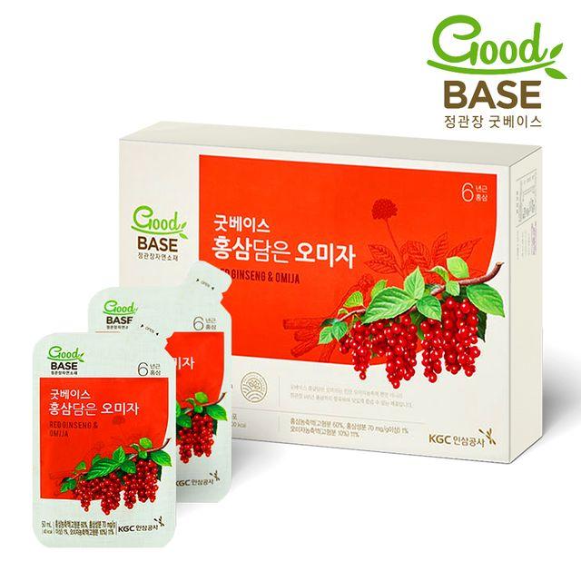 【韩国直邮】正官庄红参五味饮料