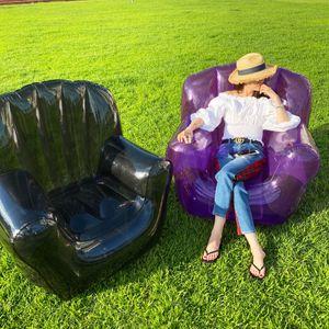 다이찌몰 젤리팡팡 튜브의자 투명 에어쇼파