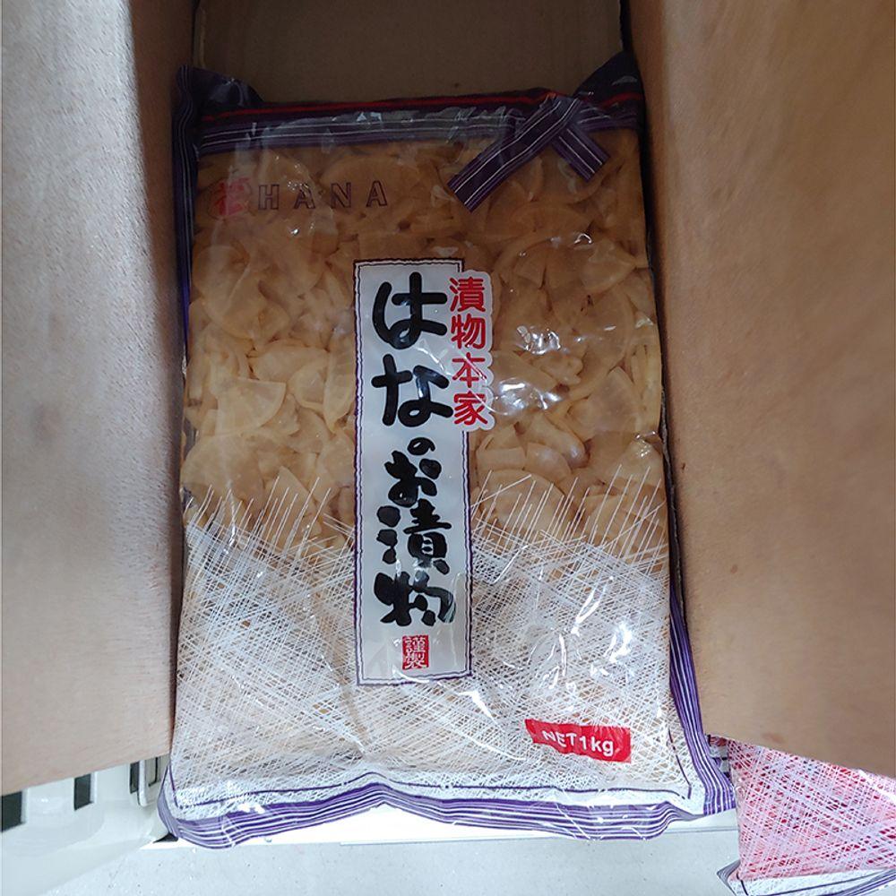 W2B4166쯔보스케 무장아찌 1kg 1개,쯔보즈케,무말랭이절임,단무지,일식