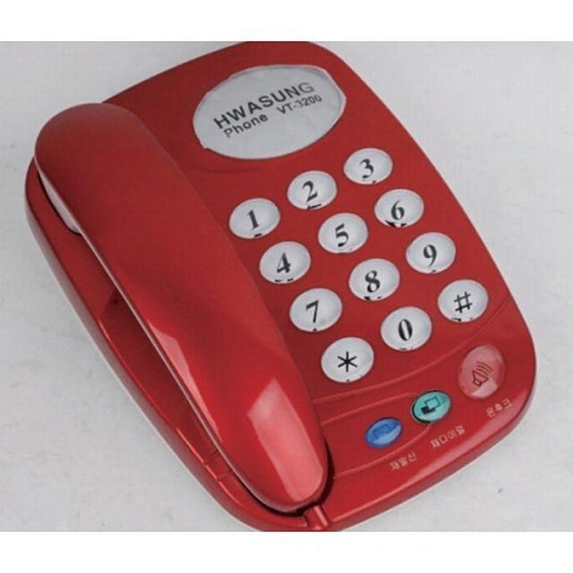화성 전화기 VT-3200 [제작 대량 도매 로고 인쇄 레이저 마킹 각인 나염 실크 uv 포장 공장 문의는 네이뽕]