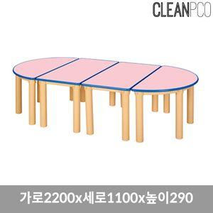 열린책상 기본다리 290 책상 의자 책꼿이