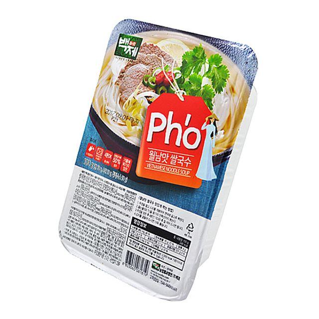 즉석 백제식품 월남맛 쌀국수 100g X 18EA 1BOX,백제식품,즉석,월남맛,쌀국수,100g