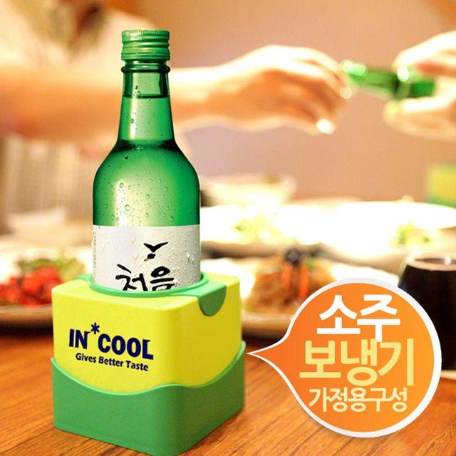 W 인쿨 아이스팩 소주보냉기 1개 시원한예감
