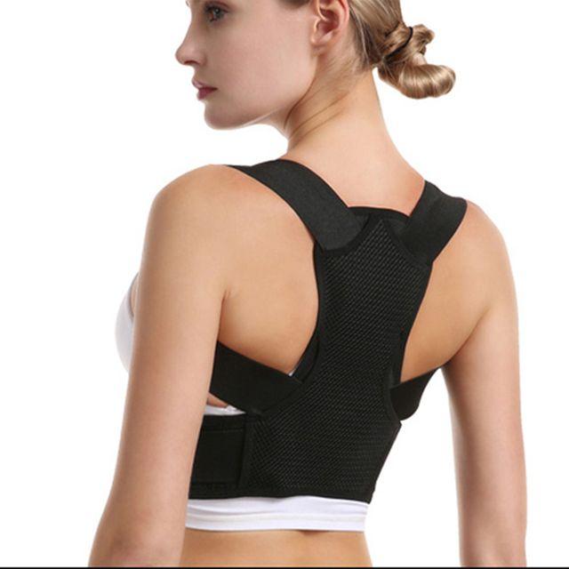 [해외] MAXRON 밴드 어깨 허리 척추 블랙 XS 100~140CM