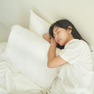 자암 천연라텍스 성인 수면 일자목 마약베개
