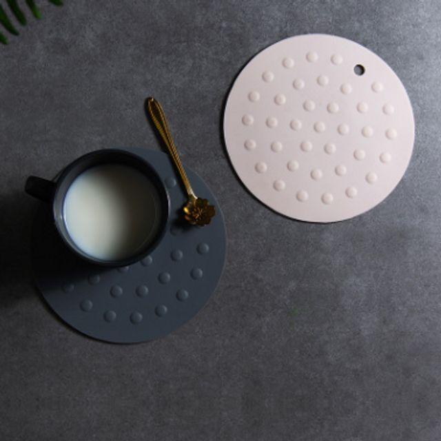 W 주방 실리콘 냄비 받침 테이블 티코스터 인테리어