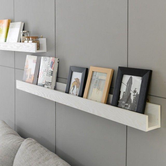 거실벽선반 특대형 인테리어선반 사진진열 벽장식