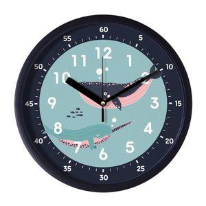 브론즈하우스 EDU-052 교육용벽시계-무소음
