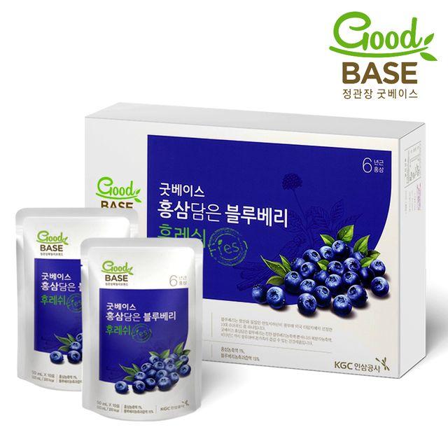 【韩国直邮】正官庄红参蓝莓饮品