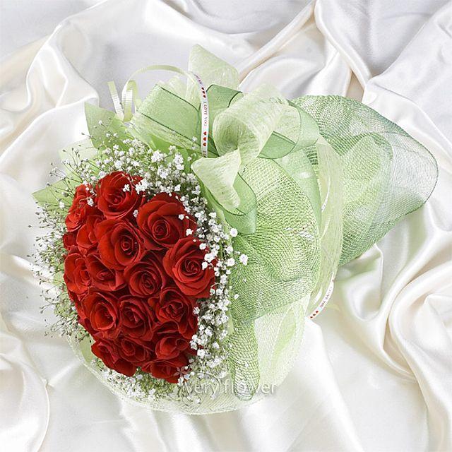 아담한장미 꽃다발-중급 3시간배송 전국 꽃배달 고백 결혼 기념일 감사선물