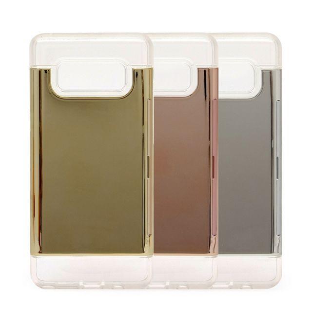 W1A1120크리스탈 미러 카드 범퍼 케이스 갤럭시 S7엣지 G935 휴대폰케이스
