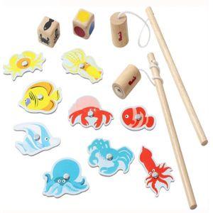 아동 유아 집중력 소근육 발달 자석 낚시 놀이 장난감