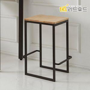 피터 자작나무원목 홈바 식탁의자