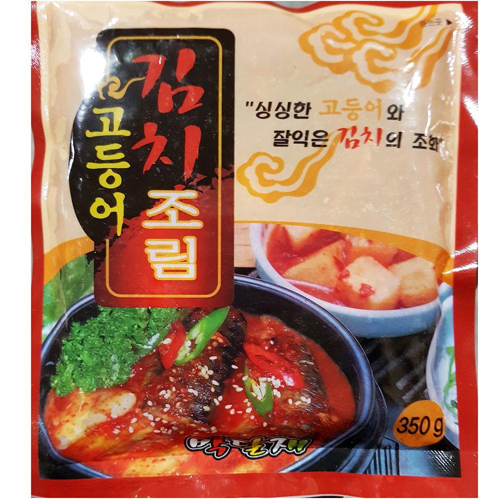 간편 즉석 조리식품 고등어김치조림 350g X 2_1 EA,고등어김치조림,탕조림,즉석식품,간식,안주