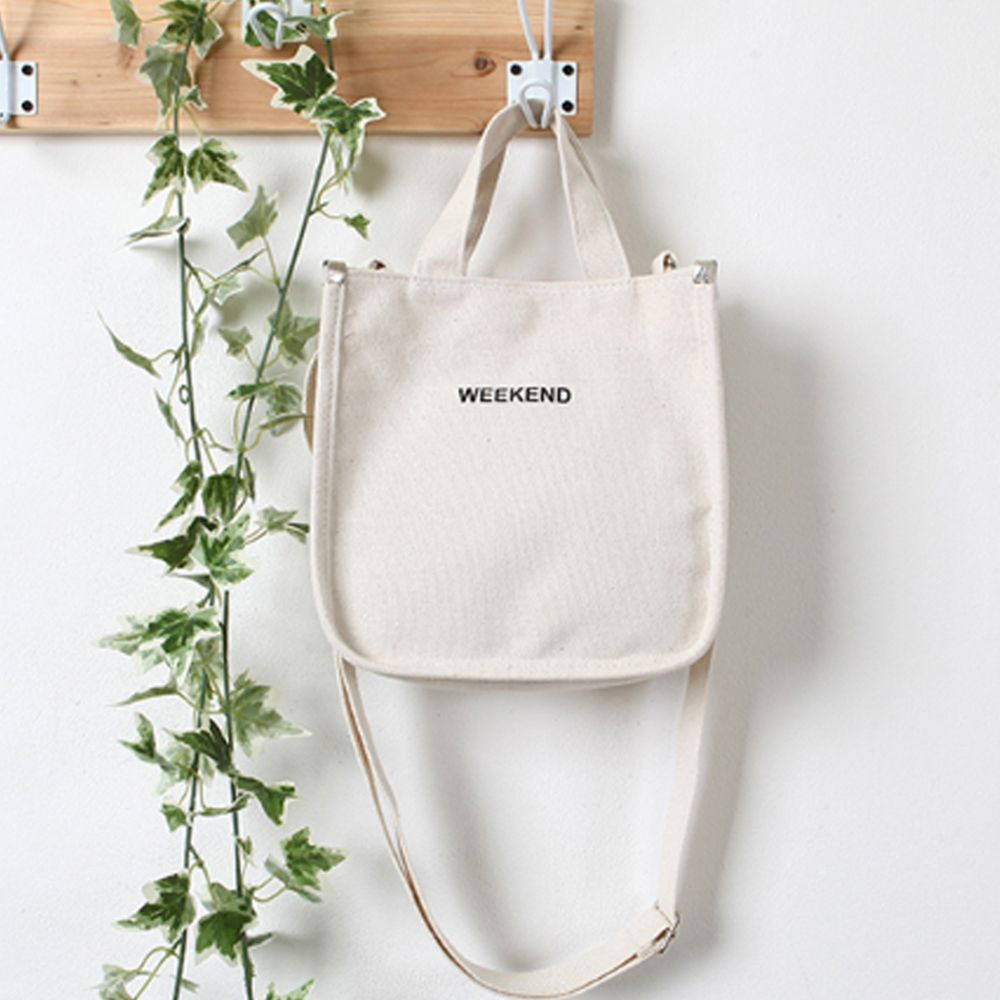 여행 멀티 보조가방 미니 토트백 에코백 크로스가방