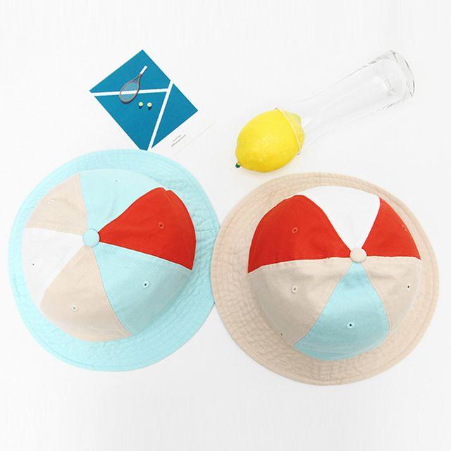 유니크한 색상 벙거지 모자 여행 소풍 학생 데일리룩