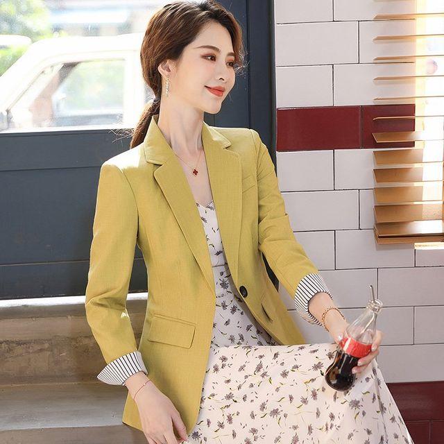 [해외] 여성 패션 재킷 자켓 정장세트매 정장 전문 착용