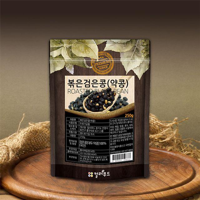 [더산쇼핑]볶은약콩 볶은검은콩 국산 250g 볶은서목태