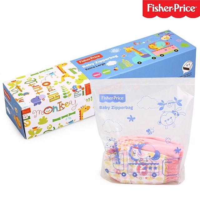 피셔프라이스 유아 XL 지퍼팩 15P 비닐 휴대용 어린이 아동 아기