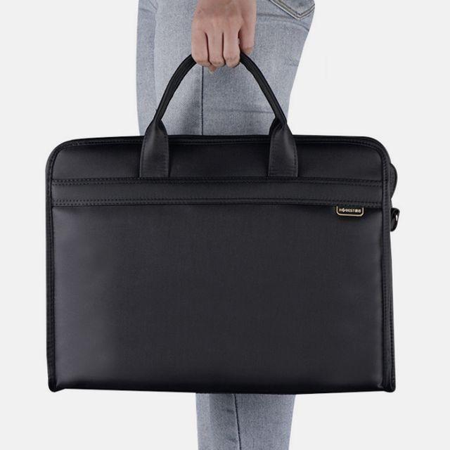 W 남성 직장인 노트북가방 회사원 출근룩 서류가방