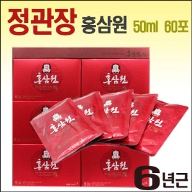 【韩国直邮】红参元液50ml x 60包