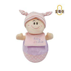 영유아 신생아 아기 키즈 선물 오뚝이 인형 장난감