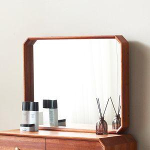 팔각원목 거울 화장대 거실 욕실 미러 인테리어 매장