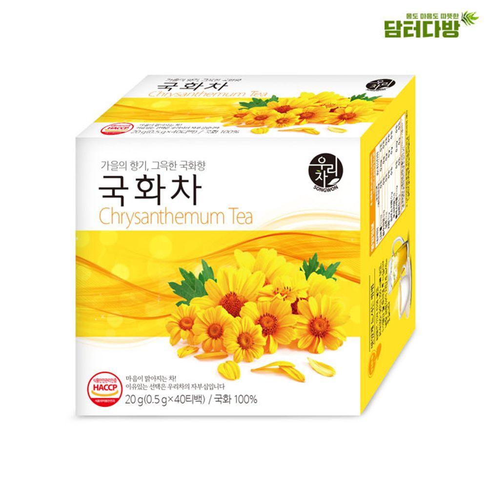 송원 국화차 40티백