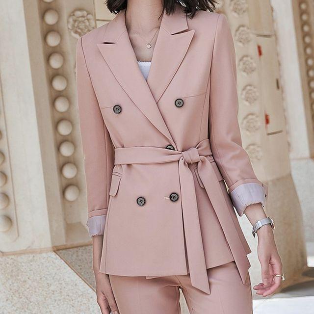 [해외] 여성 패션 재킷 자켓 정장세트스타일 가을과 겨울