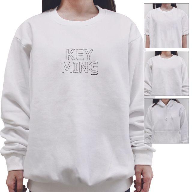 W 키밍 이니셜 여성 남성 티셔츠 맨투맨 반팔티 후드티