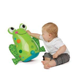 개구리 오뚝이 유아 아이 놀이 장난감 완구 유아원