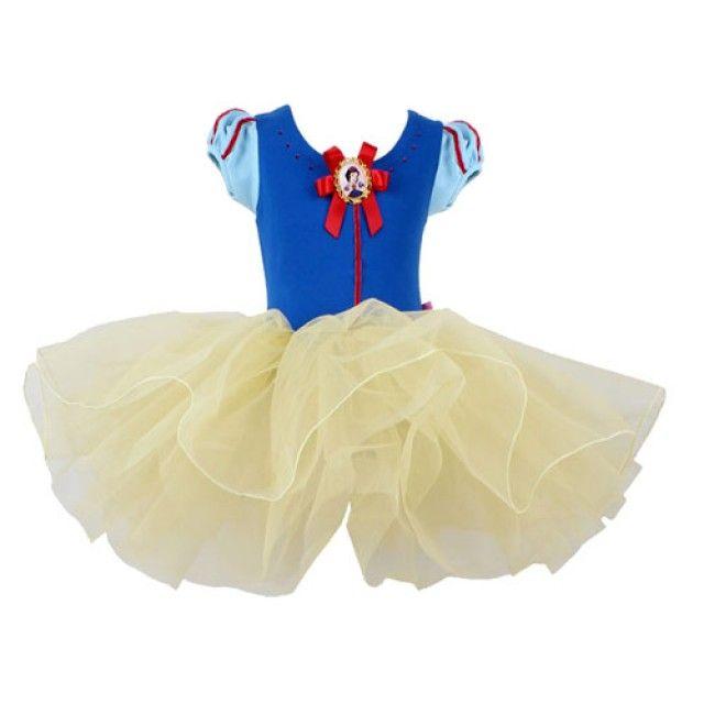 (디즈니정품)백설공주 드레스형 발레복