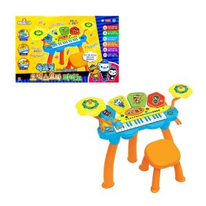 6가지 드럼 소리 기능 옥토넛 오케스트라 피아노