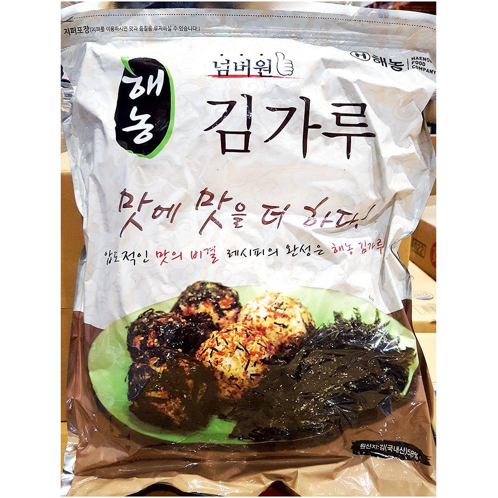 식재료 조미김가루(해농 1K),조미김가루,식당용조미김가루,업소용조미김가루,식재료조미김가루,식재료